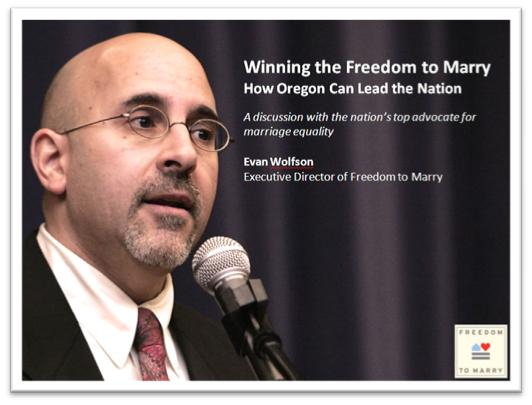 Evan Wolfson - Executive Direction Freedom to Marry