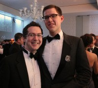 Attendees looking sharp at last year's gala