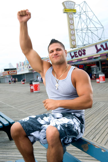Ronnie Magro - homophobe or simply a hothead?