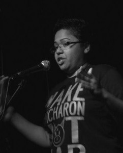 Ela Barton is a guest at this month's Q Poetry night