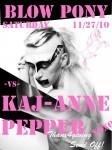 Kaj-Anne Pepper takes over Blo Po Saturday
