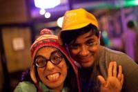 ChiChi and Chonga at Cafeteria's Jocks and Nerds Edition