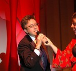 Tina Kotek offers up a challenge on the mic