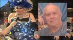 Darcelle, aka Walter Cole, in and out of drag. Photos from KGW.