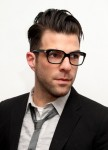 Zachary Quinto knows that hipster glasses work for gays and straights alike.