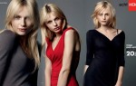 Male model Andrej Pejic advertises a push up bra for Dutch company Hema