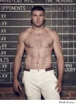 Pro rugby player Ben Cohen launched Stand Up Foundation and also has no problem looking hunky for a gay audience