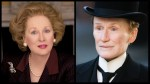 I was really hoping Glenn Close (R) would win Best Actress for Albert Nobbs though I do love Meryl Streep (L) as Margaret Thatcher. Both portrayals seem pretty gay.