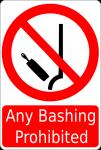 No Gay Bashing allowed, sorry